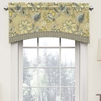 "Montego 52"" Arched Curtain Valance 