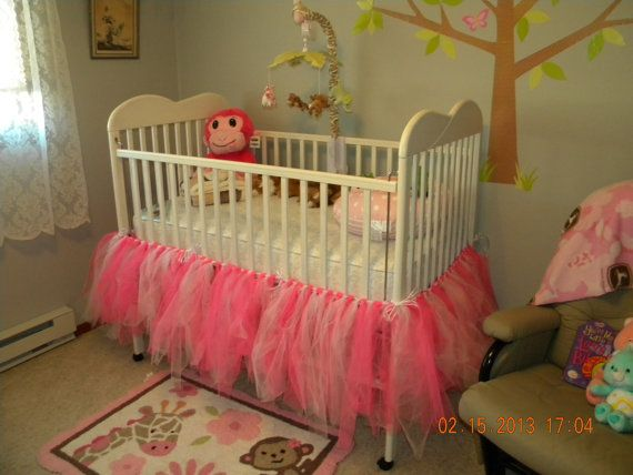 Best 25 Tutu crib skirt ideas on Pinterest  Tulle table