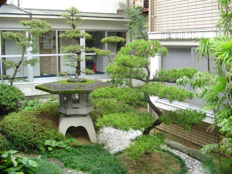 Lovely Pagoda And Dwarf Juniper Garden Miniature Gardens