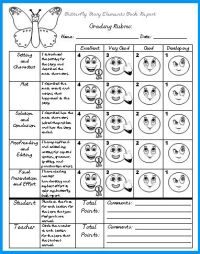 Butterfly Book Report Projects: templates, worksheets ...