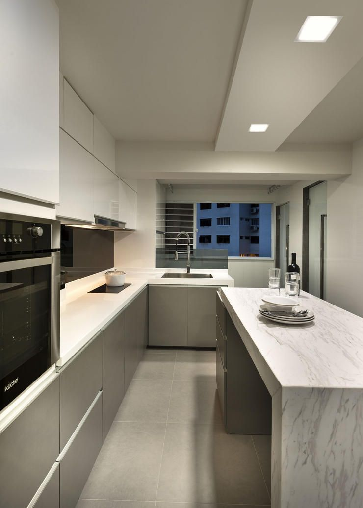 Kitchen Island In A Hdb Seriously Possible? Won't It Make The