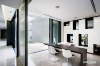 Contemporary Home Office, Houghton Residence, Johannesburg ...