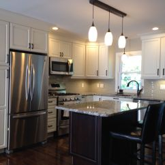 Medallion Kitchen Cabinets Sprayer Hose Remodeled In Divinity White