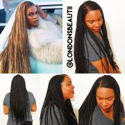 beyonce braided hairstyles fade