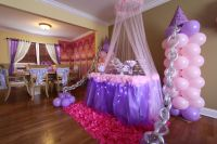 Princess Birthday Party Balloon Decoration Ideas ...