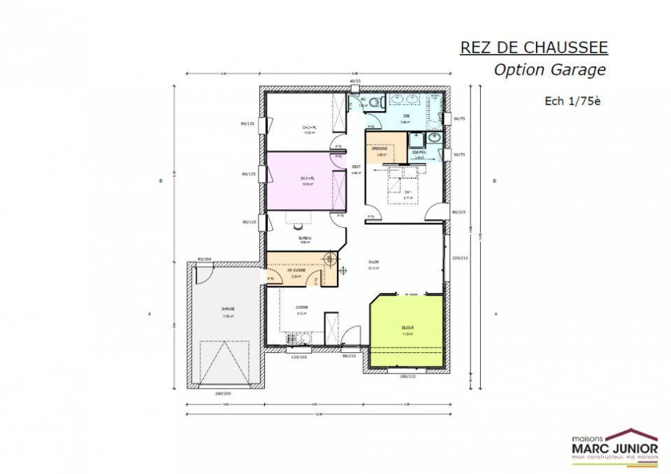 Plan Maison A Construire Maison Gaia Homexpo Plan Maison En L