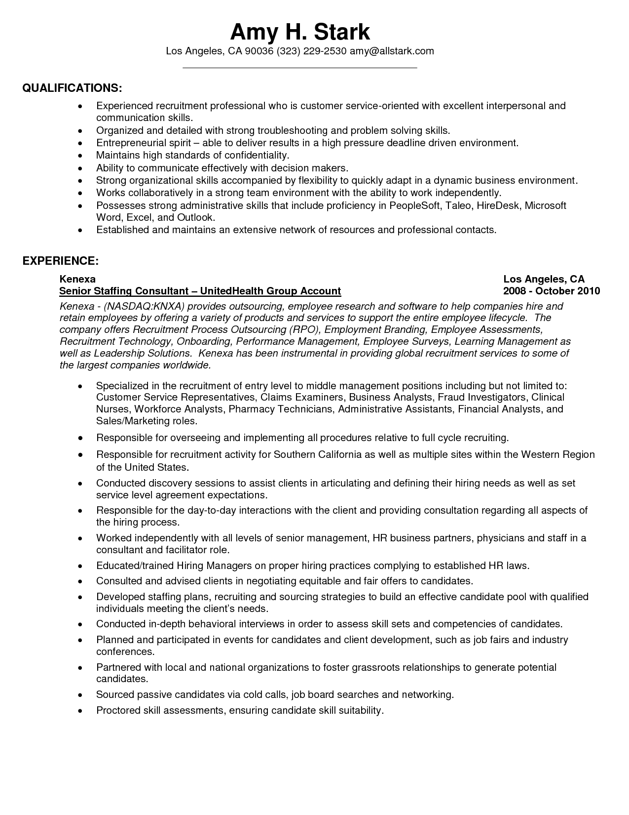 Customer Service Skills Resume Example - Examples of Resumes