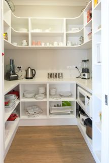 Walk-In Kitchen Pantry Ideas