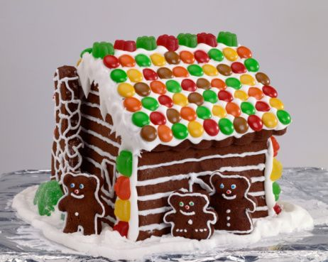 Ideas For Making And Decorating Gingerbread Houses Gingerbread
