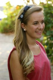 monogram bow headband