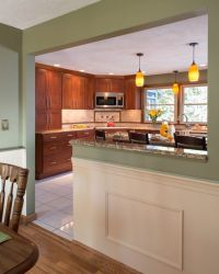Image result for half dining room kitchen wall - don't ...