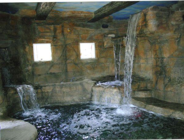 Waterfall Shower Design House & Decor Garden