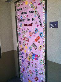 "Red Ribbon ""Anti-Bullying"" theme door decoration ..."