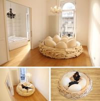 Love Love LOVE this Cozy Giant Birds Nest Bed with EGG ...