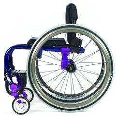 Wheelchair Hot Wheels Aniline Leather Lounge Chair And Ottoman Tilite Twist Growable Aluminum Lightweight