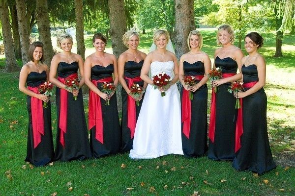 Black Red And White Wedding Ceremony - Google Search