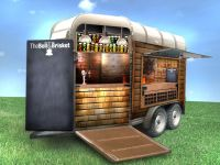 converted horse trailer - Google Search | foodtruck ...