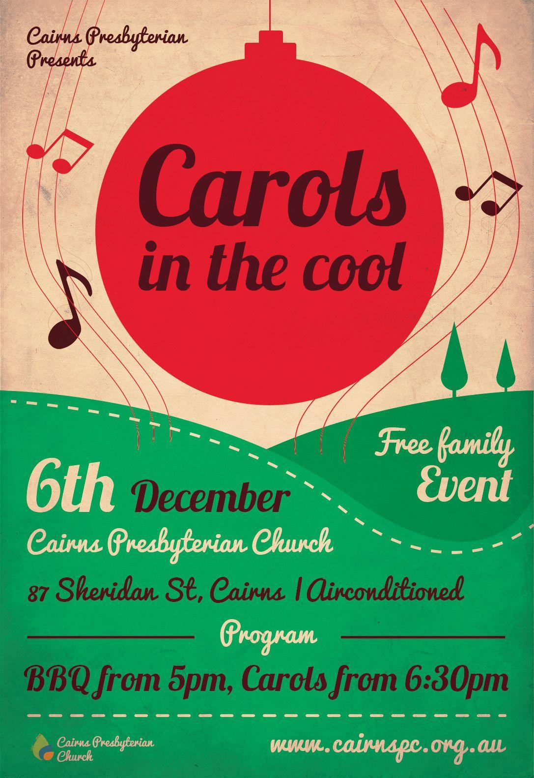 Christmas Choir Concert Flyer Templates