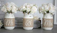 Rustic Wedding Table Decor,Rustic Bridal & Engagement Gift ...