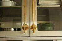 """The cabinet hardware in my office is made of unlacquered ..."