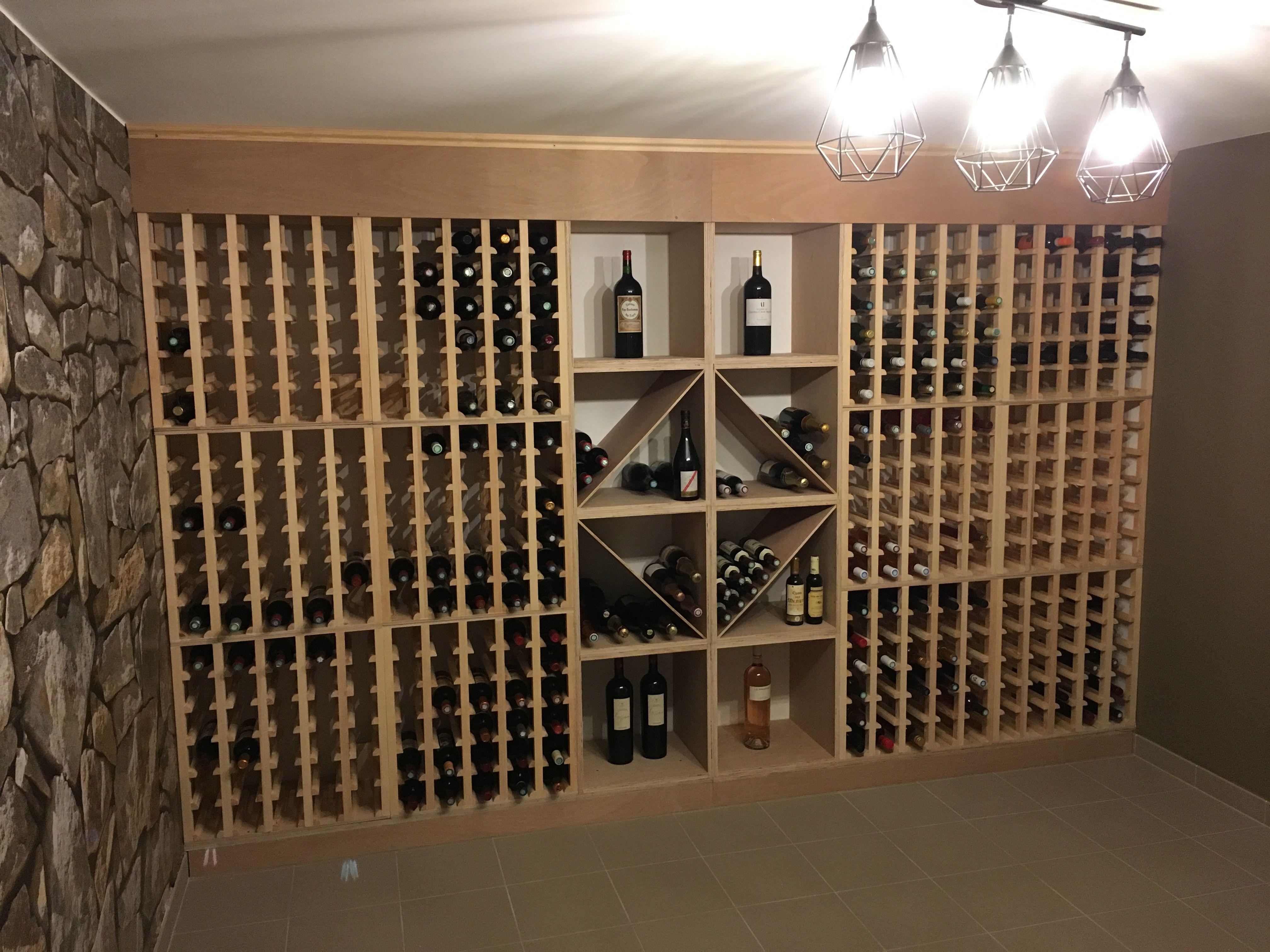 Fabriquer Casier À Bouteilles En Bois rangement bouteille de vin en bois - novocom.top