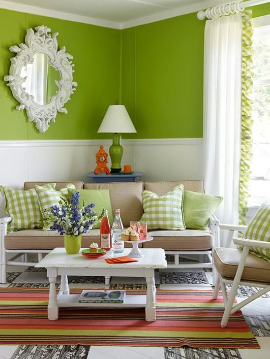Decorating with  tan sofa room ideasdecor also green walls and rh pinterest