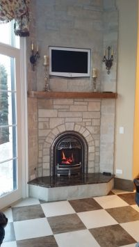 """Valor 530ILN """"Log Fire"""" Radiant Gas Fireplace and Insert ..."""