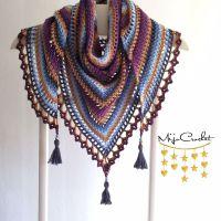 Taiga Shawl By Johanna Lindahl - Free Crochet Pattern ...