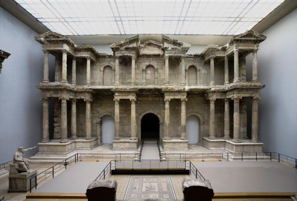 Pergamon Museum Berlin Inside