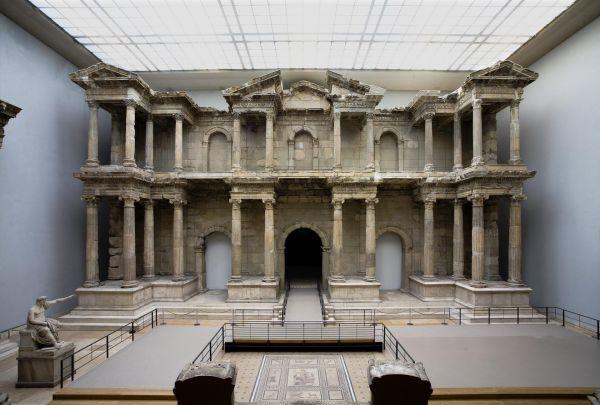 Pergamon Museum Berlin. Market Gate Of Miletus. Miletus Ancient Greek City