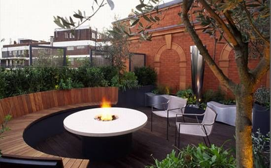 Modern Roof Garden Design Home Proyect Pinterest Gardens Roof Home