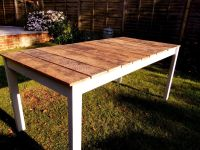 Tips for Making Your Own Outdoor Furniture   Wooden tables ...