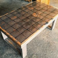 END GRAIN COFFEE TABLE | DIY {FURNITURE} | Pinterest ...