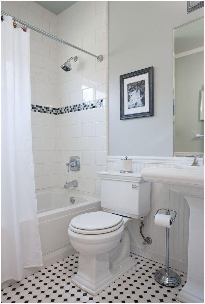 beadboard and tile bathroom  BathroomTraditionalSan