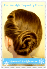 elsa coronation hairstyle disney