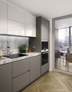 House also arcmedia  two fifty one kitchen cgi architectural visualisation rh pinterest