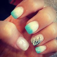 My prom acrylic nails :) #prom | Just my style! | Pinterest