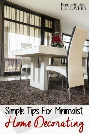 Simple tips for minimalist home decorating create an aesthetically pleasing decor with these also rh pinterest