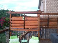 Deck Privacy Screen | Deck ideas | Pinterest | Deck ...