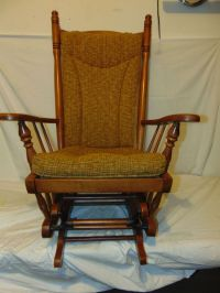 Antique Glider Rocking Chair | Antique Furniture