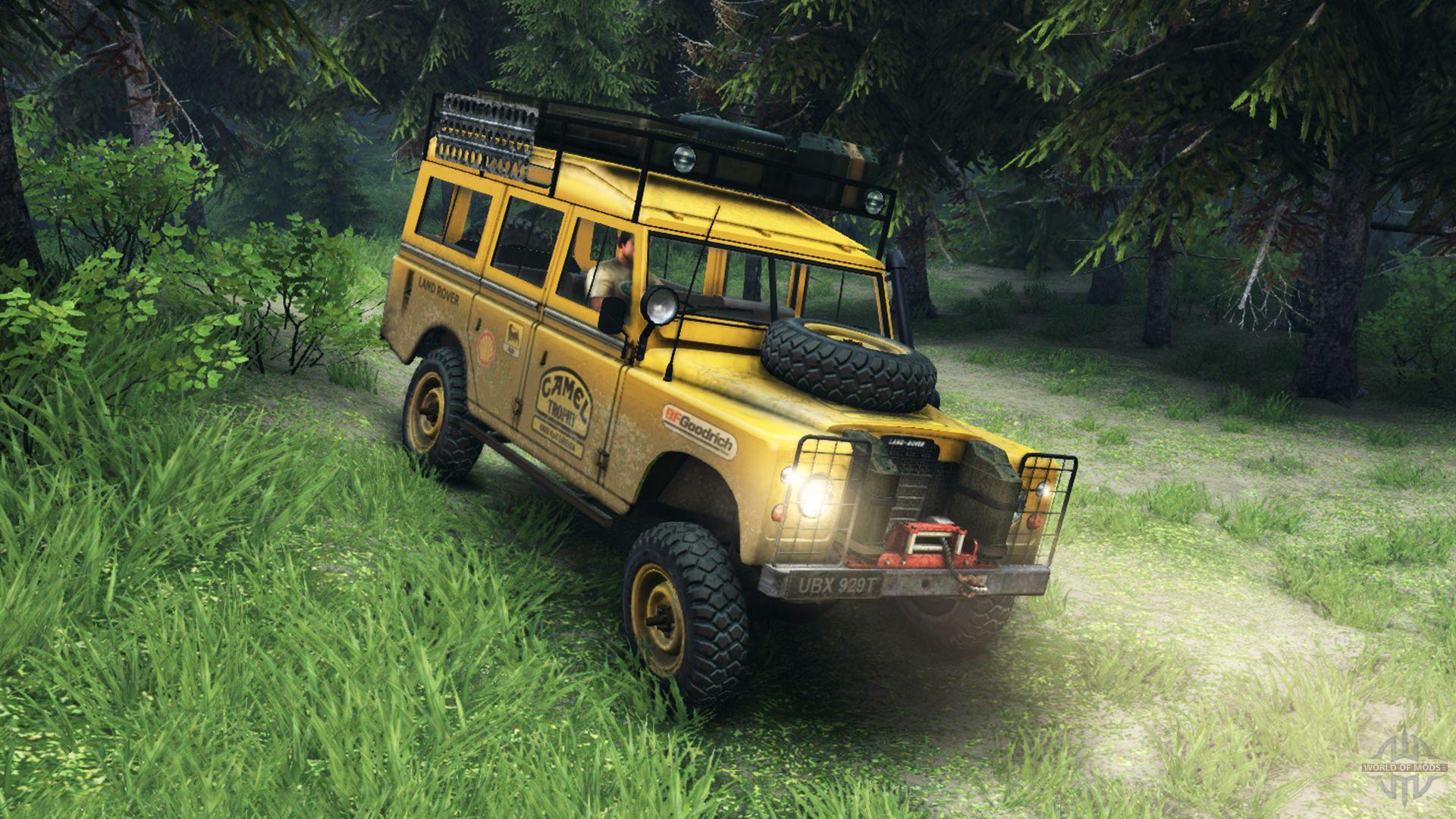 Land Rover Defender v2 2 Camel Trophy Siberia para el videojuego