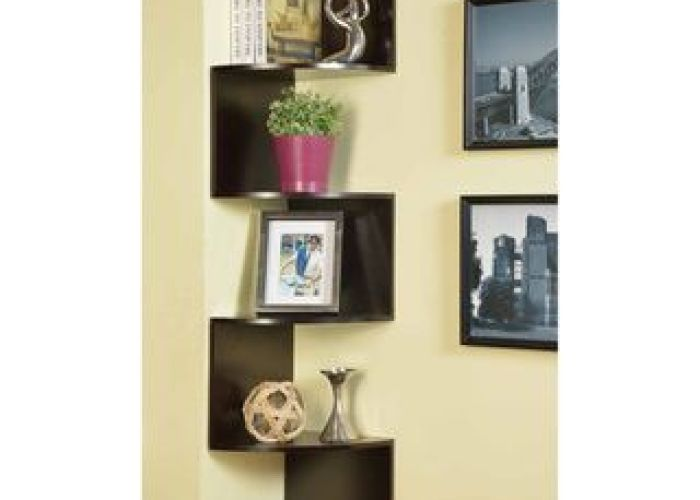 Black contoured metal corner bookcase overstock shopping great deals on media bookshelves also  and  furniture co inc