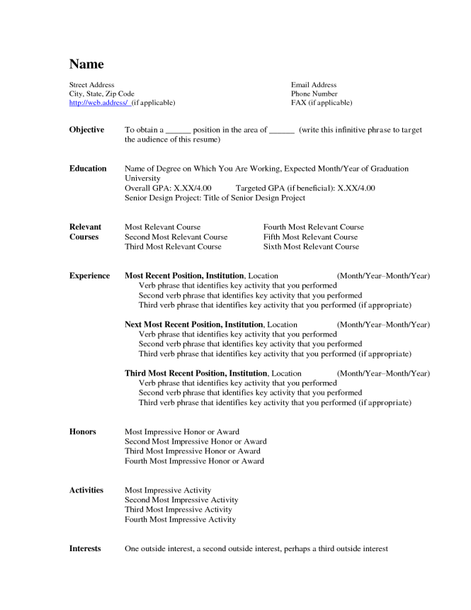 resume microsoft word enom warb co professional microsoft word resume template - Standard Resume Sample