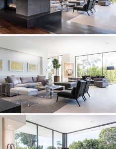 This large sitting area has two different spaces to relax in as well it also rh pinterest