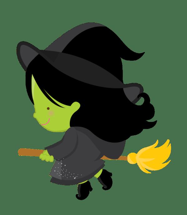 cute halloween witch clip art