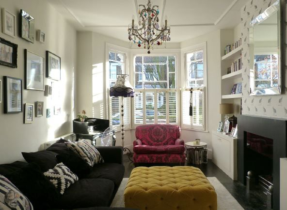 Victorian Terraced House With Open Plan Living Room Dining Room