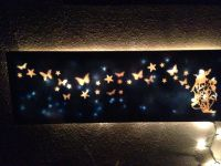 First DIY light up canvas. | Light up canvases | Pinterest ...