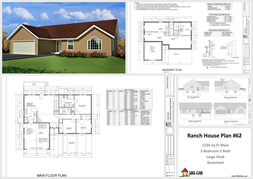 1330 Sq Ft House Design 10 House Plans Housecabin Com