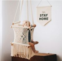 Macrame Hammock Baby Swing Chair