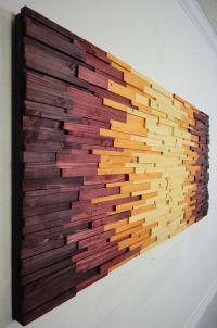 wood wall art AZTECHIE wooden wall art home